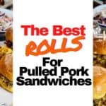best rolls for pulled pork